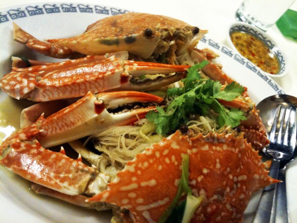 Singapore Crab Bee Hoon (Rice Noodle) | The Pulpit of Grace
